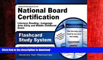 READ THE NEW BOOK Flashcard Study System for the National Board Certification Literacy: Reading -