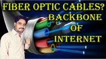 Fiber Optic Cables? Backbone of Internet   Fastest Communication Network Explained in [Hindi/Urdu]