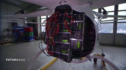 Le volocopter : moyen de transport de demain ? - FUTUREMAG - ARTE