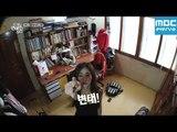 우리집에 연예인이 산다 지나 편 : 옷 갈아입기, 테이프로 원천봉쇄 / G.NA / ジーナ
