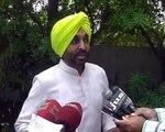 Bhagwant Mann on latest issues