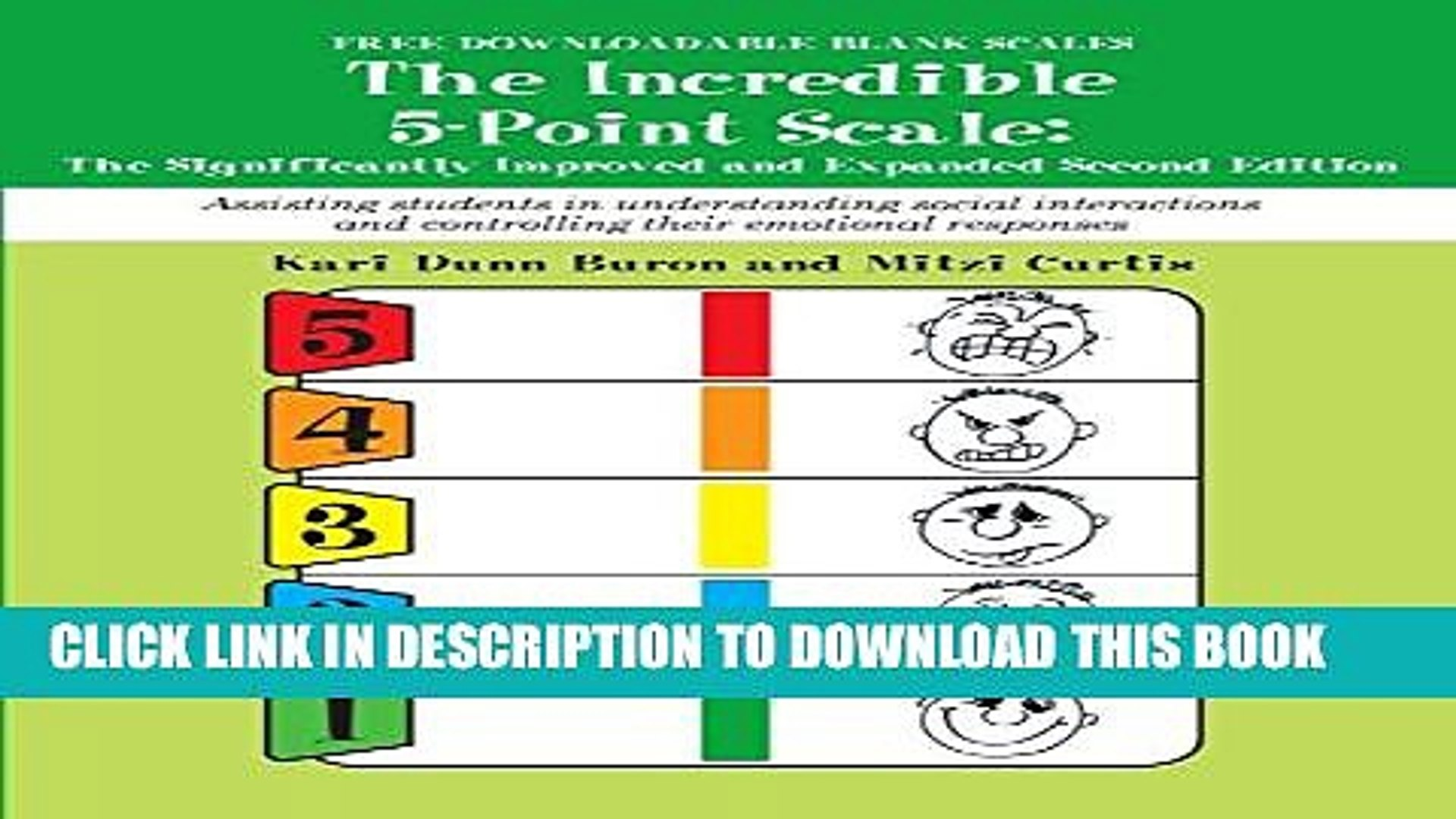 Pdf The Incredible 5 Point Scale Assisting Students In Understanding Social Interactions And Video Dailymotion