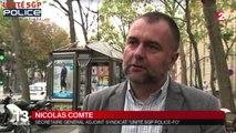 FAUSSE ALERTE ATTENTAT DE PARIS - NICOLAS COMTE SUR FRANCE 2