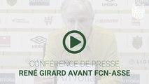 René Girard avant FCN-ASSE