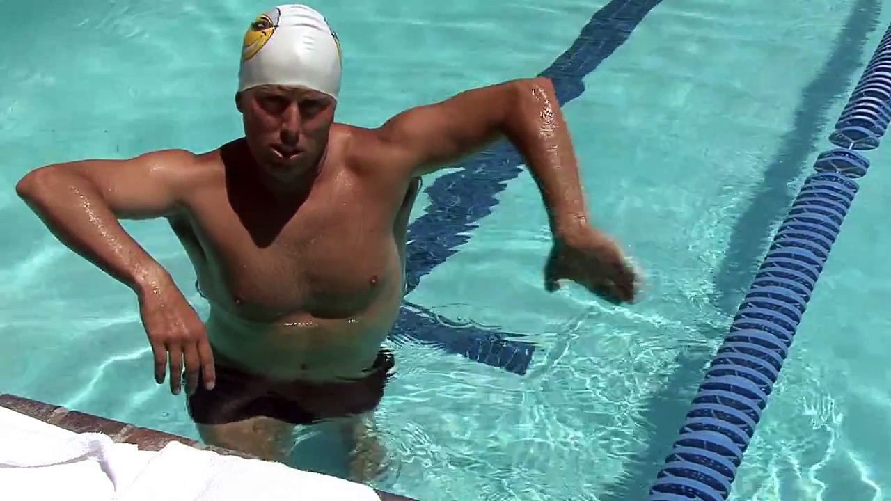 How to Swim  How to Do an Eggbeater Kick