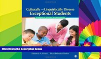 Big Deals  Culturally and Linguistically Diverse Exceptional Students: Strategies for Teaching and