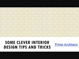 Some Clever Interior Design Tips and Tricks