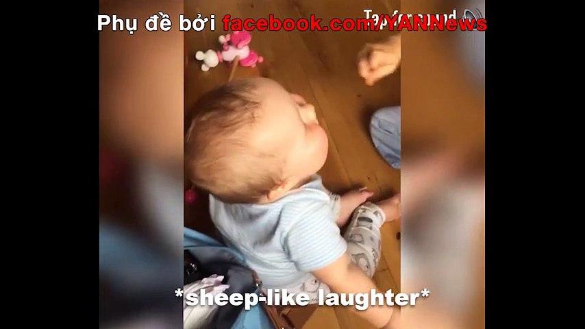 Em bé có giọng cười như dê kêu thu hút 15 triệu lượt xem | Godialy.com