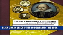 [PDF] Great Literature Copywork: Practice Cursive Handwriting with Excerpts from the Great Books