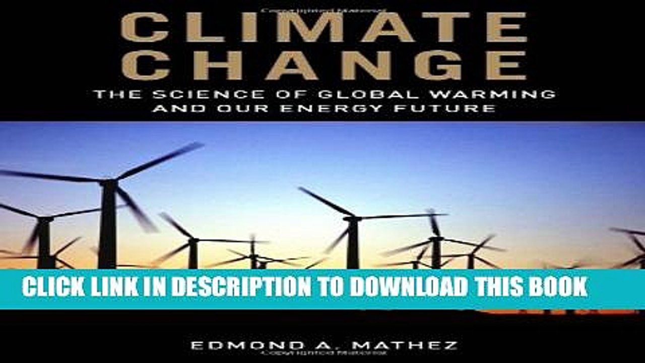 New Book Climate Change The Science of Global Warming and Our ...