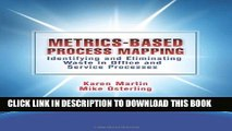 New Book Metrics-Based Process Mapping: Identifying and Eliminating Waste in Office and Service