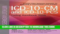 Collection Book ICD-10-CM and ICD-10-PCS Coding Handbook, without Answers, 2016 Rev. Ed.