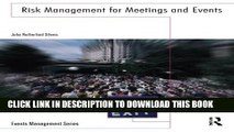 Collection Book Risk Management for Meetings and Events (Events Management)
