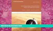 Big Deals  Counseling Strategies and Interventions (8th Edition) (Interventions that Work Series)