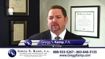 Criminal DUI and Drug Charges Attorney Lakeland FL Tampa FL http://www.GreggKamp.com