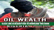New Book Oil Wealth and Insurgency in Nigeria