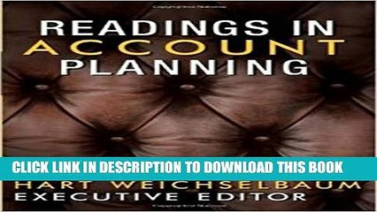 Collection Book Readings in Account Planning (The Copy Workshop)