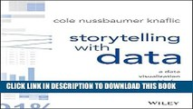 New Book Storytelling with Data: A Data Visualization Guide for Business Professionals