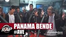 """Panama Bende """"#AVÉ"""" en live dans Planète Rap"""