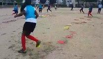 Séance physique U16 féminine......Très bon travail de nos joueuses