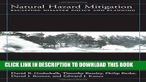 [PDF] Natural Hazard Mitigation: Recasting Disaster Policy And Planning Popular Colection