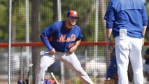 Tebow Participates in Mets Workout