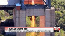 N. Korea claims to have successfully carried out test of new rocket engine