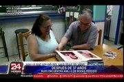 Recuperan anillo de bodas perdido hace 37 años