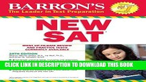 [PDF] Barron s NEW SAT, 28th Edition (Barron s Sat (Book Only)) [Full Ebook]