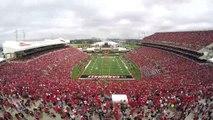 University of Louisville vs Florida State timelapse 9-17-2016