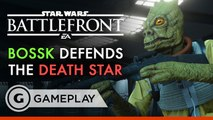 Chewbacca Smash!! - Star Wars Battlefront: Death Star DLC Gameplay