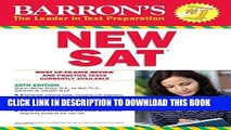 [PDF] Barron s NEW SAT, 28th Edition (Barron s Sat (Book Only)) Popular Colection