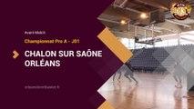 J01 Pro A vs Chalon - Avant-Match