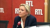 """Marine Le Pen sur RTL : """"Nicolas Sarkozy peut être un trou de souris pour François Hollande"""""""