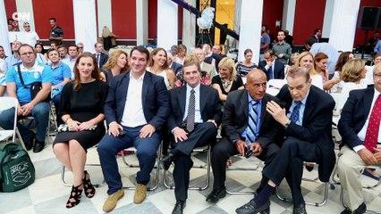Η πολιτεία τίμησε την Ελληνική Ολυμπιακή Ομάδα. CNN Greece
