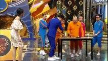 Chết cười với trò chơi ăn mì khó đỡ trên gameshow Thái Lan
