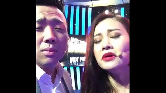 Trấn Thành cùng Hà Thúy Anh giả giọng Lam Trường và Phương Thanh khiến fans 'cười ngất'
