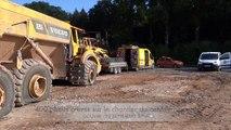 Couvin: entre 300 et 400 pneus crevés sur le chantier du contournement