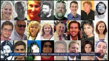 Terrorisme : hommage solennel aux victimes des attentats aux Invalides