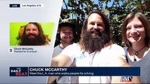 Chuck McCarthy : meet the L.A. man who walks people for a living