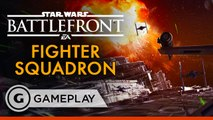 Death Star Fighter Squadron Gameplay - Star Wars Battlefront
