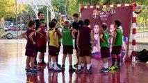 FCB Masia: inici del curs FCB Escola Futbol i Basket