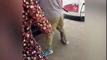 Người đàn ông ép nhốt một cô gái vào mui xe