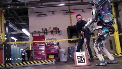 Atlas, le robot bipède le plus agile du monde - FUTUREMAG - ARTE