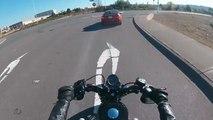 À moto, il se fait percuter par sa mère