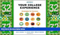 Big Deals  Your College Experience: Strategies for Success  Best Seller Books Most Wanted