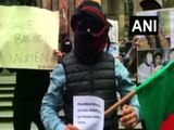 Baloch activists protest against Pak atrocities in Balochistan, thank PM Modi for extending support