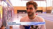 """Gilles Simon : """"On était un peu court sur ce week-end de Coupe Davis"""""""
