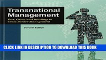 [PDF] Transnational Management: Text, Cases   Readings in Cross-Border Management Popular Collection