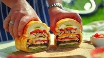 James Martin prepares delicious picnic sandwiches